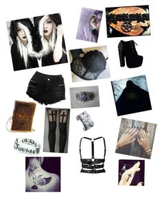 """""""Something Wicca this way comes"""" by ravensuicide ❤ liked on Polyvore featuring CO and Zana Bayne"""