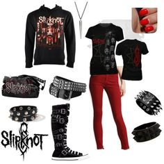 I love this Slipknot Outfit!
