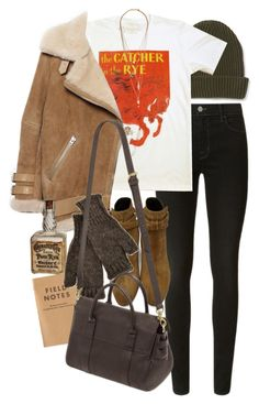 """""""Untitled #9941"""" by nikka-phillips ❤ liked on Polyvore featuring Aéropostale, J Brand, Acne Studios, Yves Saint Laurent, Inverni, Mulberry and Forever 21"""