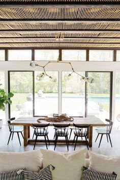 Inside Athena Calderone's Bright Hamptons Home - Rip & Tan