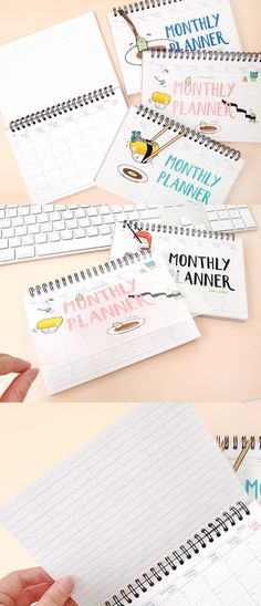 For me, Sushi is not just a food but also a unbearably adorable organizing companion! Enjoy your well organized months with the Sushi Monthly Planner!