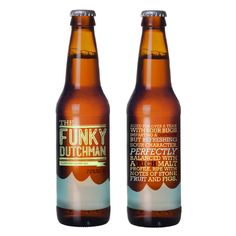 Beer Labels by Laura Mechling, via Behance