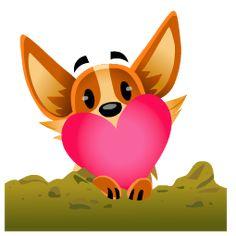 🐕 Francisquinho acorda as da manhã ligado no 🐕 💟 🐕 Emoji Stickers, Love Stickers, Puppies Gif, Animated Emoticons, Emoticon Faces, Dog Background, Love You Gif, Emoji Love, Good Night Gif