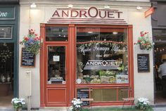 The Ultimate French Cheese Shop The historic Androuet fromagerie has been sourcing and maturing exceptional cheeses since 1909. Their shop on rue Mouffetard is staffed by friendly English-speakers who will be happy to explain and vacuum-seal your selections
