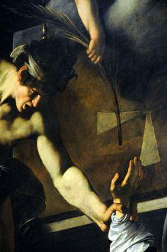 Caravaggio, Martirio San Matteo - dialogo di mani | Flickr – Condivisione di foto!
