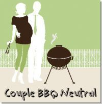If you and you're husband are planning on having a baby and you wanna bbq to celebrate, then this theme is great :)