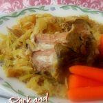 Simple pork roast in slow cooker