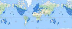 Locais onde o Google Streeview está disponível