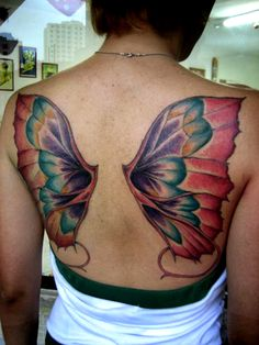 The decorative nature of butterfly wings is considered beautiful by many women, who choose butterfly tattoo designs not only for their symbolism, but for the simple beauty of these winged creatures. Description from pinterest.com. I searched for this on bing.com/images