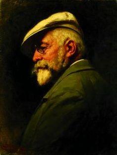 Benczúr Gyula: Önarckép (1917)  (1844-1920) A magyar történeti festészet legjelentősebb mestere.