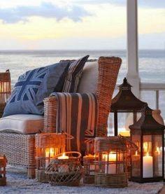 Coastal Living...perfect beach scene