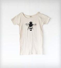 Women's Honey Bee T-Shirt - Natural White by Naturwrk on Scoutmob Shoppe