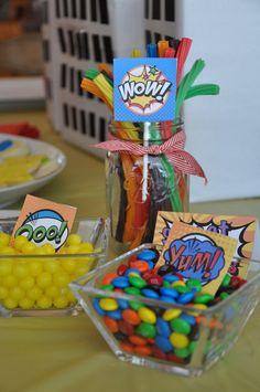 A Superhero Birthday Party!