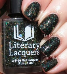 Literary Lacquer Magic and Mysteries Collection - Avada Kedavra