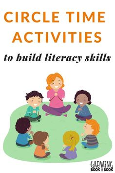 Loads of Circle Time Activities Lots of books, songs, and activities to build literacy-rich circle times with toddlers, preschoolers, and kindergarteners. via Growing Book by Book Preschool Songs, Preschool Lessons, Preschool Learning, Kindergarten Activities, Classroom Activities, Circle Time Activities Preschool, Preschool Language Activities, Kindergarten Circle Time, Preschool Transitions