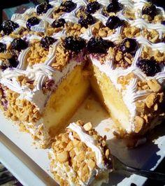 Εύκολη εκτέλεση για την πιο γευστική τούρτα αμυγδάλου Tiramisu, Cookie Recipes, Cheesecake, Cookies, Ethnic Recipes, Desserts, Food, Kitchens, Pies