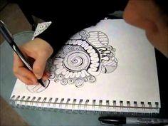 Time-lapse Doodle Drawing - Viscera Phantasma