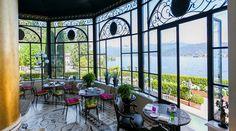 Breathtaking views of Lake Maggiore and facing the Borromean Islands, Villa & Palazzo Aminta exudes an air of romance.