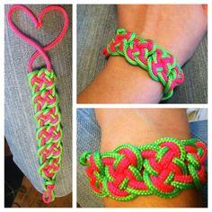 Pretzel knot #bracelet #diy