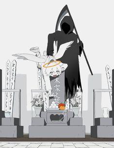 Powerful, dark, and disturbing illustrations by Japanese artist Dark Art Illustrations, Illustration Art, Sun Projects, Arte Obscura, Deep Art, Art Anime, Sad Art, Arte Horror, Angels And Demons