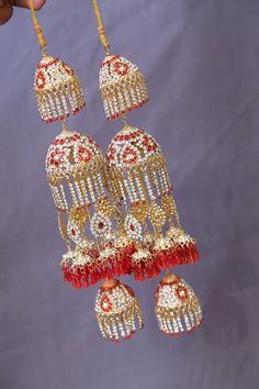 Engagement & Wedding 100% True Bollywood Bridal Red Kaleera Ethnic Chura Kalire Indian Dulhan Kalira Set 1 Pair Bridal & Wedding Party Jewelry