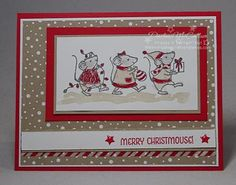 Stampin Up Merry Mice Stamp Set                                                                                                                                                                                 More