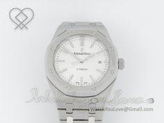 Royal Oak 15400 White Dial - £440