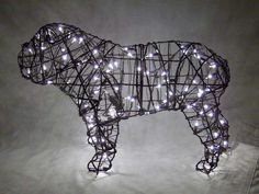 Lighted Wired Animal Topiary