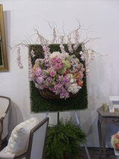 Floral Art Floral Wreath, Table Settings, Wreaths, Unique, Room, Wedding, Home Decor, Art, Casamento