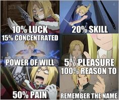 FMA -- Okay, okay! I get it! I need to watch Fullmetal Alchemist!