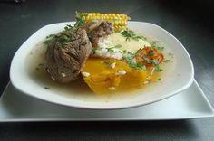 Cómo preparar Cazuela de Osobuco Kitchen Recipes, Cooking Recipes, Chilean Recipes, Chilean Food, Recipe For Mom, International Recipes, Ramen, Soup, Dishes