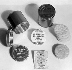 US Army Rations - World War II - Back in the day, these contained a 5-pack of cigarettes!