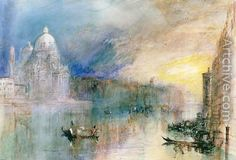 Image result for turner venice paintings
