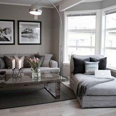 Déco salon gris : 25 exemples inspirants | Home inspiration ...