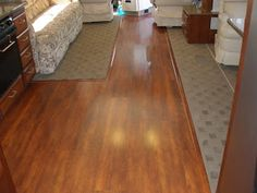Remodeling Your RV's interior: Installing laminate flooring in an RV