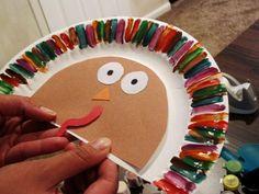 Easy Turkey Craft for Kids at Rae Gun Ramblings