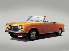 Peugeot 304 cabriolet 1970-1976, une de mes voitures familiales et personnelles.