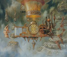 Extraordinary Paintings of Travel Vehicles by Jaroslaw Jasnikowski | Great…
