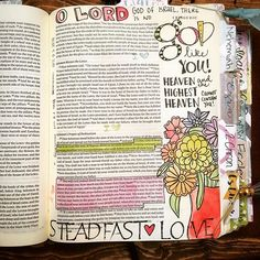 O Lord, there is no God like you! Heaven and the highest Heaven cannot contain you! Lamentations, Psalms, 1 Kings, Illustrated Faith, Scripture Verses, Bible Art, Art Journal Inspiration, Journaling, Bible Journal