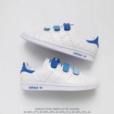 6c397653c88  85.07 Adidas Stan Smith Velcro Kids