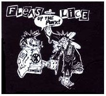 Fleas And Lice- Up The Punx cloth patch (cp448)