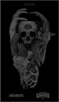 Goatmantra / the Black Coffins by Hugo Silva, via Behance
