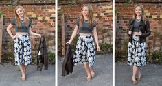 #OOTD #WIWT #Primania #Topshop #AllSaints  http://laurashopaholic.blogspot.co.uk/2014/08/ootd-palm-print-culottes-laurashopaholic.html