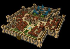Minecraft overview of a city Minecraft Building Guide, Minecraft Plans, Minecraft City, Minecraft Games, Minecraft Tutorial, Minecraft Blueprints, Minecraft Creations, Cool Minecraft, Minecraft Designs