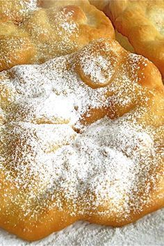 A super-simple path to county fair-style fried dough. Fried Dough Recipes, Fried Bread Recipe, Best Fried Dough Recipe, Beignets, Elephant Ears Recipe, Baking Recipes, Dessert Recipes, Desserts, Baking Ideas