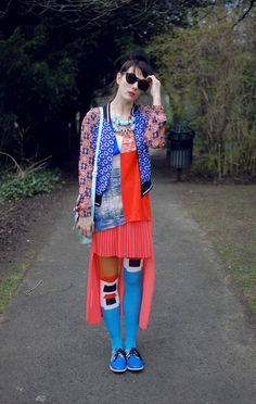@Michelle Flynn Haswell throwing an absolute corker down. the woman's got major style yo. kudos, girl. #KingdomOfStyle