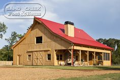 Barn Home-swoon! Will have one some day!