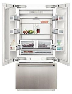 the side by side fridge freezer by siemens with its freshprotectbox keeps fruits and. Black Bedroom Furniture Sets. Home Design Ideas