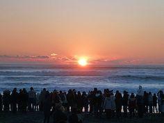Kết quả hình ảnh cho watching sunrise in new year day japan