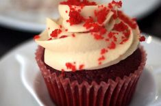 Gluten-Free and Dairy-Free Red Velvet Cupcakes - I'll make these without sugar also...! www.freernutrition.com